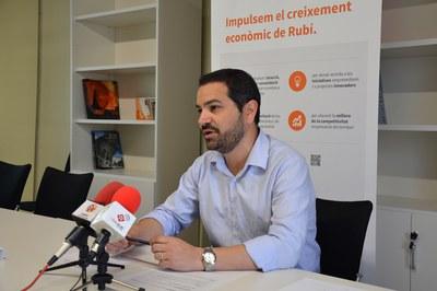 El concejal Jaume Buscallà.