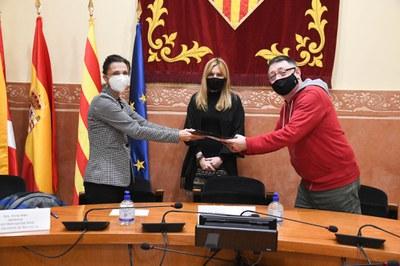 Ayuntamiento, Catsalut y entidad han abierto una vía de colaboración (Foto: Ayuntamiento/Localpres).