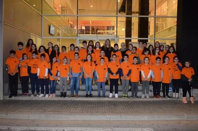 El Consejo de los Niños, tras su renovación este año (foto: Localpres).