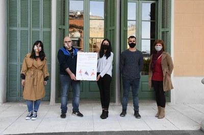 La presentación ha tenido lugar en el Ateneu (Foto: Ayuntamiento/Localpres).