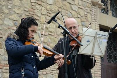 Actuación de la Escuela Municipal de Música Pere Burés (foto: Localpres)