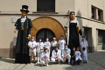 Los Gegants, expuestos en Doctor Guardiet (foto: Ayuntamiento de Rubí - Localpres)