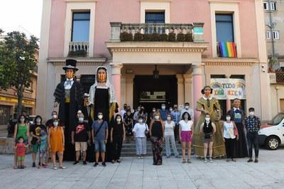 Presentación de las pregoneras (foto: Ayuntamiento de Rubí - Localpres)