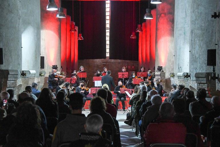 Actuación de la Orquestra de Cámara (foto: Ayuntamiento de Rubí - Localpres)