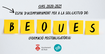 Rubí Jove ofrecerá asesoramiento y orientación sobre becas para cursar estudios postobligatorios.