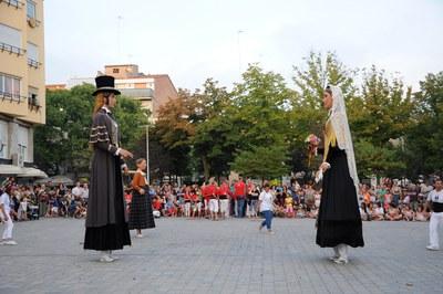 Gigantes y otra imaginería popular volverán a ser protagonistas de Sant Roc (foto: Ayuntamiento de Rubí - Localpres).