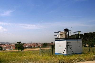 En Rubí, la estación de la Red de Vigilancia y Previsión de la Contaminación Atmosférica está ubicada en Ca n'Oriol (foto: Ramon Vilalta).