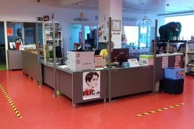 La Biblioteca es uno de los equipamientos que se reactivará con la fase 2 (foto: Biblioteca Municipal Maestro Martí Tauler).