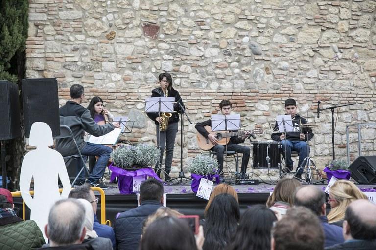Actuación de la EMM Pere Burés (foto: Ayuntamiento - Lali Puig)