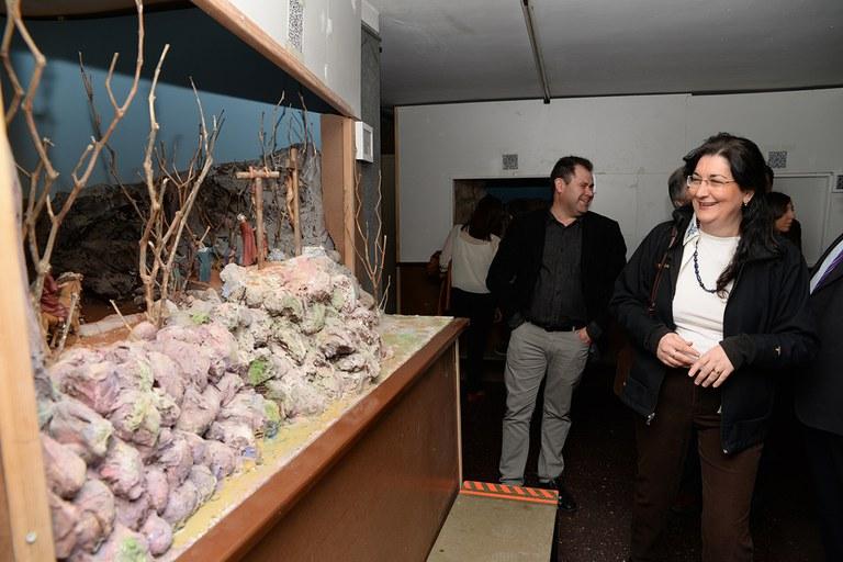 La exposición contiene varias escenas de la Pasión (foto: Localpres)