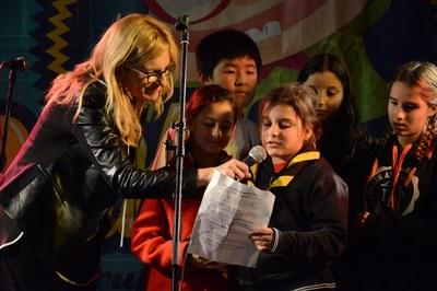 Los niños han reclamado sus derechos (foto: Localpres)