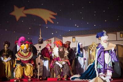 Los Reyes Magos, el año pasado en Rubí (foto: Localpres).