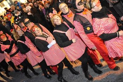 La rúa de Carnaval de 2013 (foto: Lídia Larrosa).