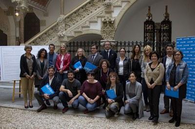 Los alcaldes y alcaldesas firmantes de la declaración (foto: UNICEF) .