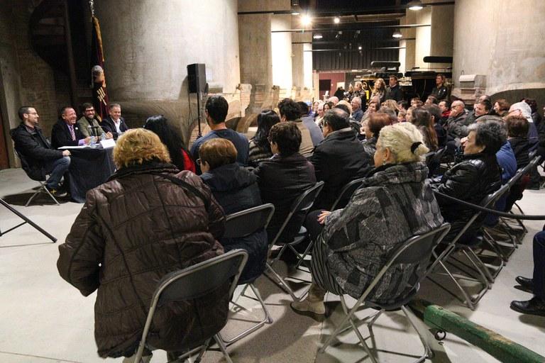 Este jueves se ha presentado el 22 Encuentro nacional de los 'Tres Tombs' (foto: Ayuntamiento – Lali Puig)
