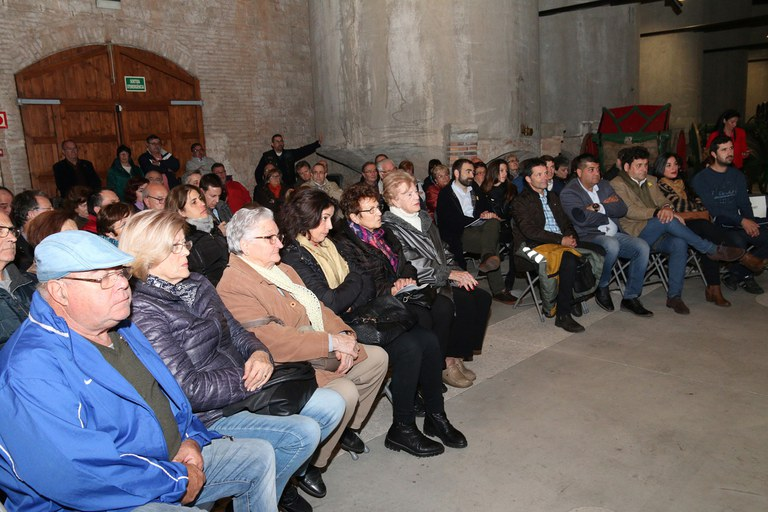 Varios socios de Sant Antoni Abat han asistido al acto (foto: Ayuntamiento – Lali Puig)