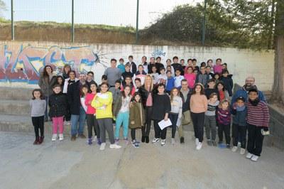 Un momento de la visita al Teresa Altet (foto: Ayuntamiento de Rubí – Localpres).