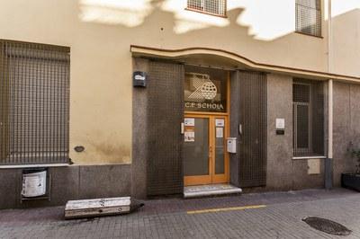 La escuela Schola está ubicada en la calle de Sant Pere (Foto: Ayuntamiento/Cesar Font).
