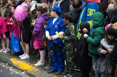 Los niños han sido los auténticos protagonistas de la jornada del domingo (foto: Localpres)