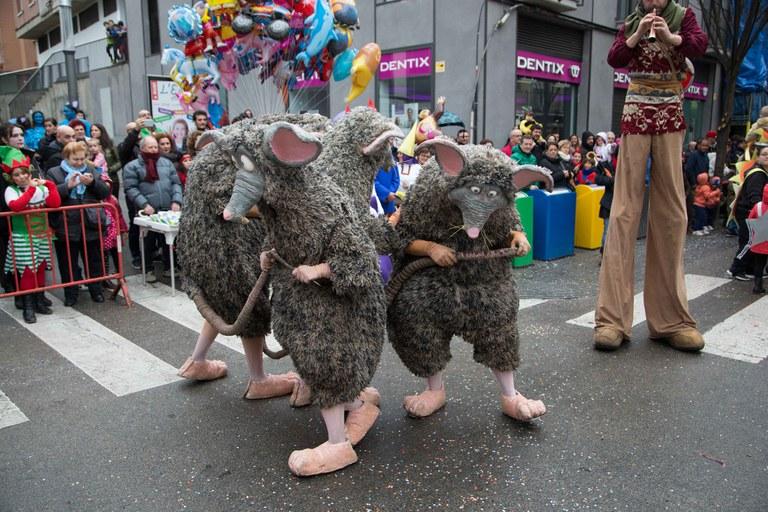 El espectáculo Rats! ha sido muy aplaudido por el público (foto: Localpres)