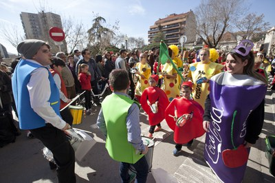 El desfile infantil se ha hecho el domingo por la mañana (foto: Localpres).