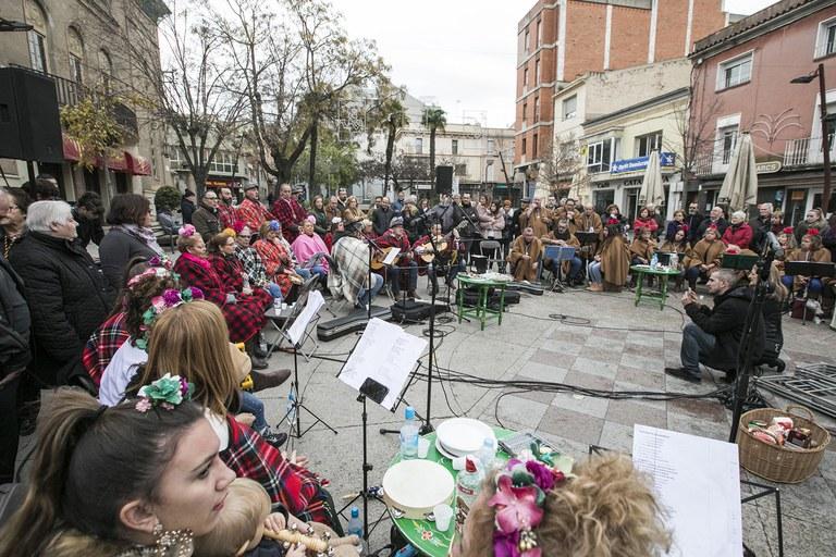 Imagen de la Zambombada (foto: Ayuntamiento – Lali Puig)