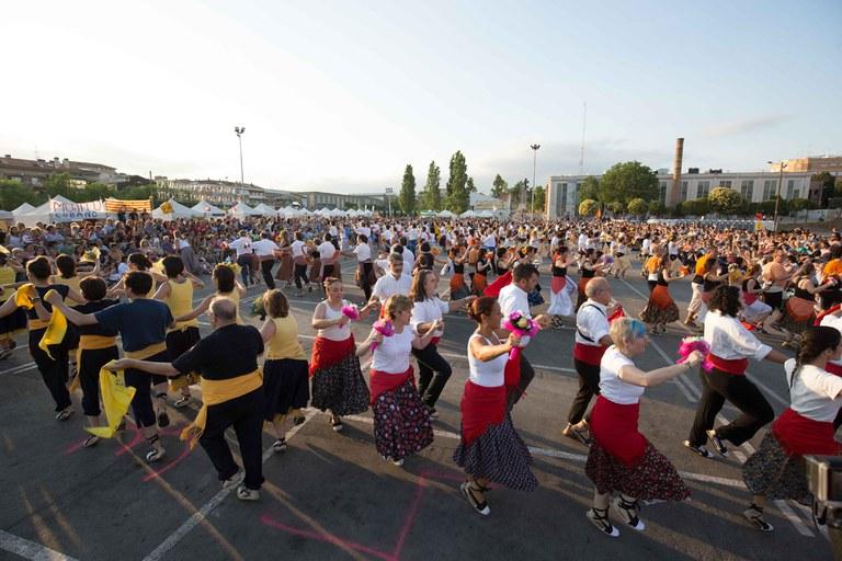 Baile de Gitanes al Carrer (foto: Localpres)