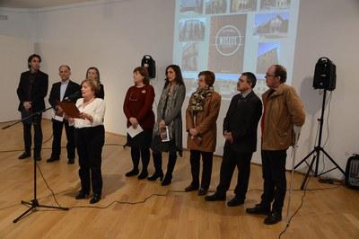 La presentación del Pasaporte de los museos del Barcelona ha tenido lugar en Cerdanyola (foto: Localpres).