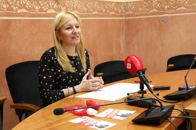 La rueda de prensa ha tenido lugar este lunes a Sala de Plenos (Foto: Ayuntamiento de Rubí - Lali Álvarez).