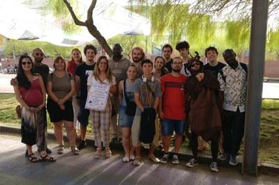 La concejala de Juventud y varias entidades han presentado las actividades programadas en el Espacio Allende (foto: Ayuntamiento).