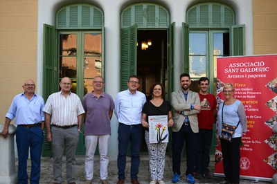 La 22ª Fira de Sant Galderic se ha presentado en el Ateneu (foto: Localpres).