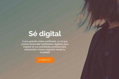 """""""Sé digital"""" surge de un acuerdo entre el Ayuntamiento de Rubí, la EOI y Orange."""