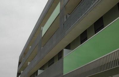 Actualmente, ocho pisos de las promociones de la calle Lepanto están disponibles.