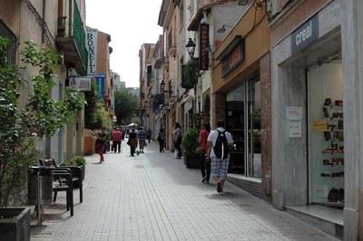 Pueden optar a las subvenciones los comercios situados en la trama urbana consolidada de Rubí.