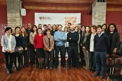 Los representantes de las empresas participantes en los proyectos 2017.