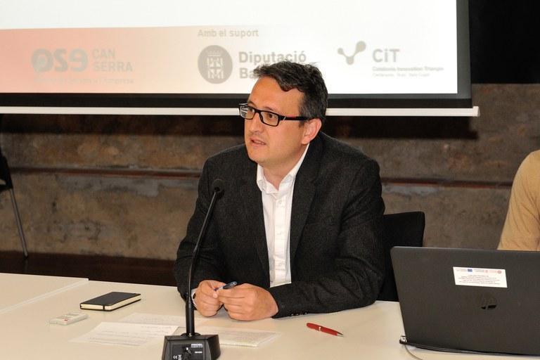 El concejal Rafael Güeto ha presentado la jornada (foto: Localpres)