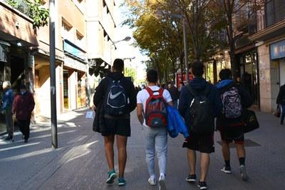 El talleres se dirigen a jóvenes de secundaria (foto: Ayuntamiento de Rubí).