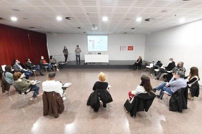 La Mesa de Bienestar Animal se ha reunido por primera vez este martes en la Biblioteca (foto: Ayuntamiento de Rubí - Localpres).