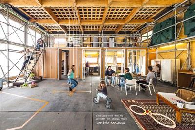 'Ressò', un prototipo de edificio solar autosuficiente y sostenible para la rehabilitación social, se construye en Sant Muç (foto: ETSAV).