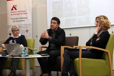 El acto se ha celebrado en el auditorio de la Mestre Martí Tauler (Foto: Ayuntamiento/ Lali Puig).