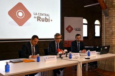 Jaume Buscallà, Jordi Parera y Josep Casas.