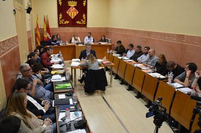 El Pleno del mes de noviembre ha aprobado el cambio de cartapacio, el plan director del proyecto Rubí Brilla, el manifiesto por el 25N y Modificación de los estatutos y el reglamento de funcionamiento del OED Rubí, Servicios de Comunicación Audiovisual.