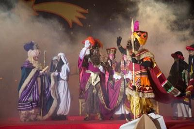 Sus Majestades llegarán de forma mágica al Escardívol (foto: Localpres).
