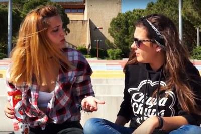 El proceso participativo se ha publicitado a través de varios vídeos protagonizados por jóvenes.