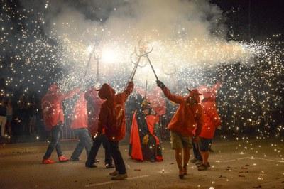 """""""Raval"""" de fuego (foto: Localpres)"""