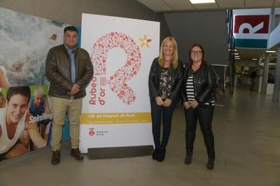 La presentación se ha hecho en las instalaciones del CNR Rubí (Foto: Ayuntamiento - Localpres).