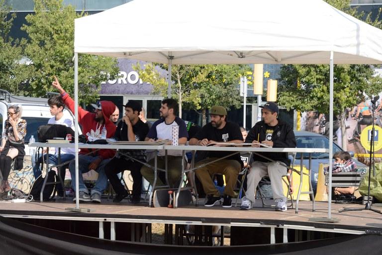 Los jueces de la competición (foto: Localpres)