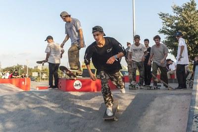 Momento de la competición (Foto: Cesar Font).
