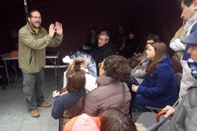 Durante la jornada del sábado se organizaron talleres de eficiencia energética y sobre la factura eléctrica