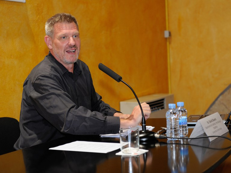 David Bueno ha ofrecido la conferencia inaugural (foto: Localpres)